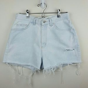 Vintage Lee Distressed Jean Shorts